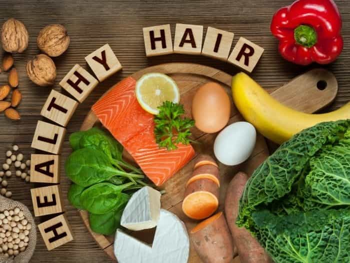 Foods to eat for Healthy Hair