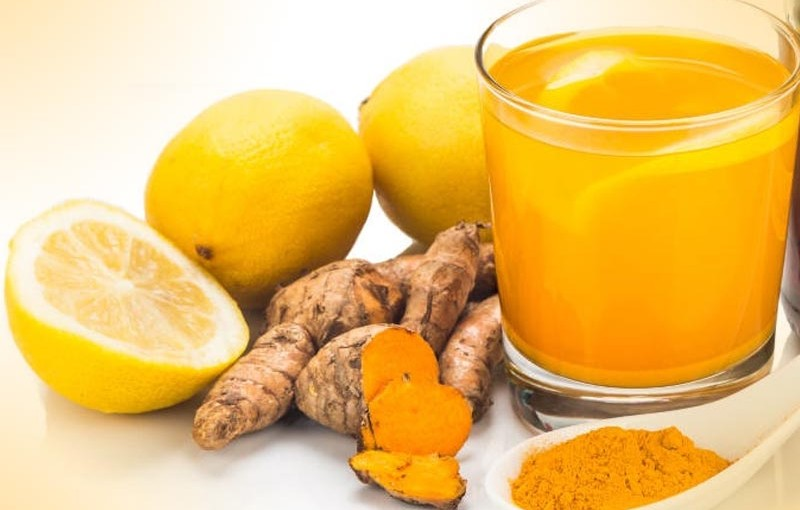 Lemon and Turmeric Anti-Inflammation Drink