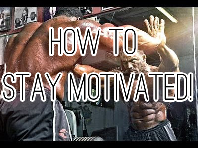 The True Secret to Staying Motivated In Bodybuilding