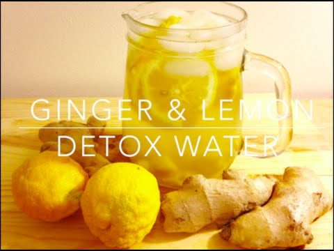 Anti-Inflammatory Detox Water